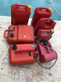 Boat Fuel tanks and Jerry Cans