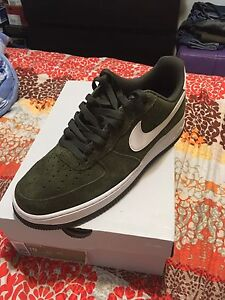 Nike Air Force 1 Olive Suede