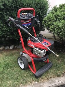 Pressure washer 2800 psi with 8.5 Hp easy start gas engine