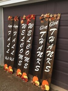 Fall decorative Boards