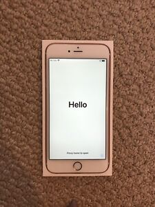 Rogers Iphone 6S plus rose gold 10/10 condition