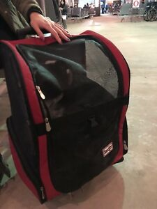 Wanted Wheeled Backpack Pet Carrier