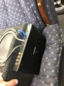 Subs and box with amp
