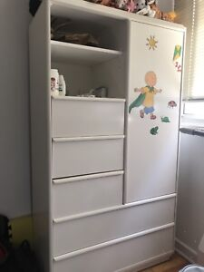 For kids Drawer metres and bed