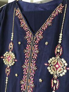BN Party wear 3 piece Pakistani dress medium size