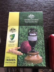 Ashes five dollar coin Windsor Hawkesbury Area Preview