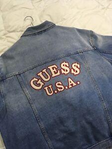 A$AP Rocky Guess Jean Jacket