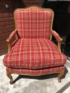 French Country Bergere chair