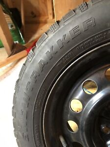 195/60/15 winter tires with rims