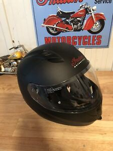 Indian motorcycle full face helmet.