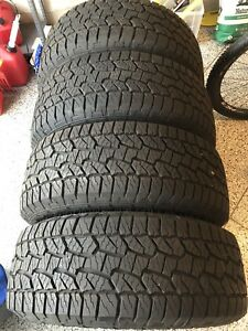 4 x Like New 275/55 R20 Hankook Dynapro Tires
