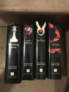 Twilight hard cover set