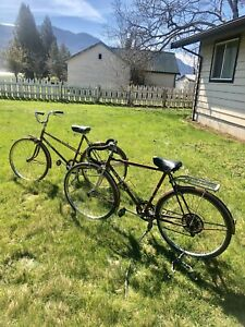 Vintage CCM Elite Bikes Matching Mens & Womens