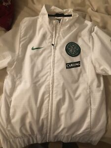 Nike Celtic football club Carling windbreaker jacket size small
