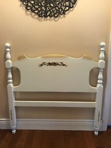Twin headboard and footboard