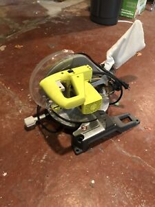 Ryobi 10-in miter saw with laser guide