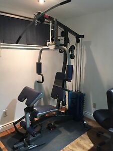 Competitor's Home Gym