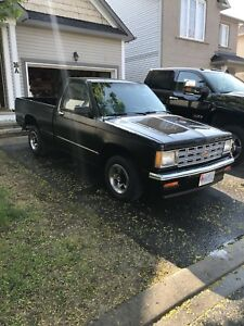 Rot free 1987 Chevrolet S10 with new Drag parts