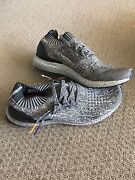 Adidas ultra boost uncaged SILVER size us 10 Sydney City Inner Sydney Preview
