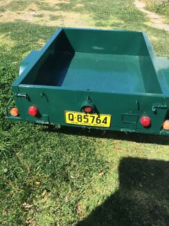 Heavy duty trailer with rego