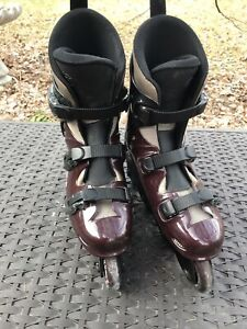Men's size 9 Roller blades Ultra wheels A1 condition