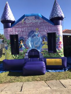 Disney princess jumping castle for hire