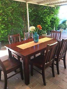 7 piece dining set Gosnells Gosnells Area Preview