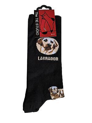 Perro Labrador Calcetines Tobilleros Unisex Tamaño Adulto 6-11