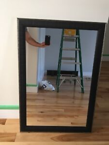Large wall mirror - $30