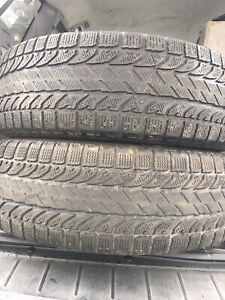 2-225/65R17 Bfgoidrich winter tires