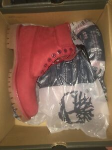 Timberland rouge taille 9 homme