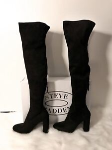 Steve Madden Thigh High Boots Size 8 New In Box