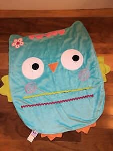 Baby owl blanket towel (or mat)- NEW