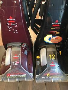 Two Bissell Vacuums