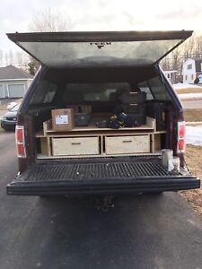 Truck bed drawers