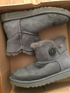 UGGS-Classic grey with button
