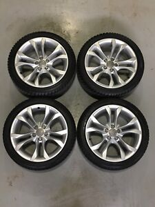 2009 Audi S5 OEM wheels with Snow Tires 80%