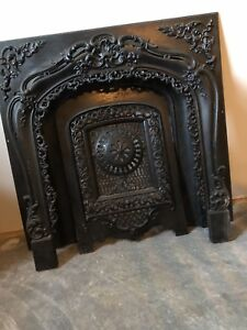 Cast Iron fireplace front