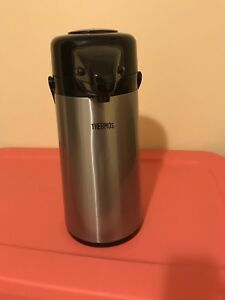 Steel thermos bottle