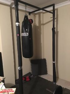 Boxing solid frame and pull up bar gym fitness gumtree
