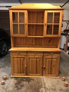 Solid Pine Wooden cabinet like New