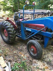 Tracteur Massey Ferguson 135 multi power!
