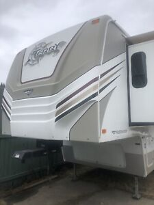 Terry fifth wheel travel trailer