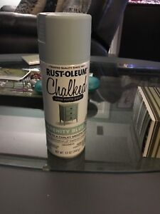 Brand new rust-oleum chalked paint serenity blue