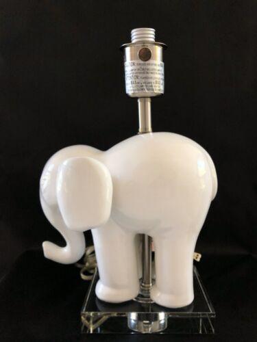 Pottery Barn Kids Elephant Nursery Ceramic Lamp