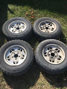 205 75 14 Tires on 5x114.3 (5x4.5) Ford Rims