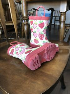 Hatley size 5 rubber boots