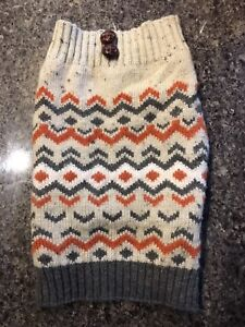 SIZE SMALL USED DOG SWEATER