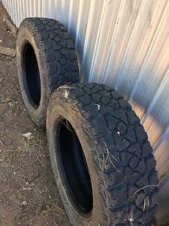 Kumho MT51 mud tyres