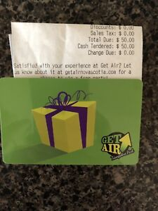 $50 get air gift card- perfect Christmas present